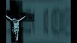 Cross Jesus Lines Blue