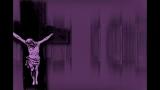 Cross Jesus Lines Purple