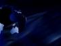 Blue Spinning Globe