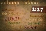 Autumn Countdown - Bilingual