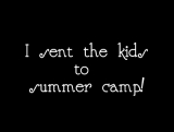 Summer Camp for Parents