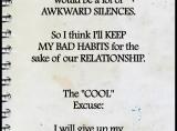 Bad Habit EXCUSES