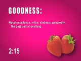 Fruit of the Spirit Countdown