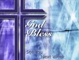 Blue Cross God Bless