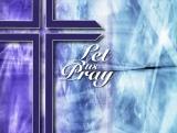 Blue Cross Let us Pray
