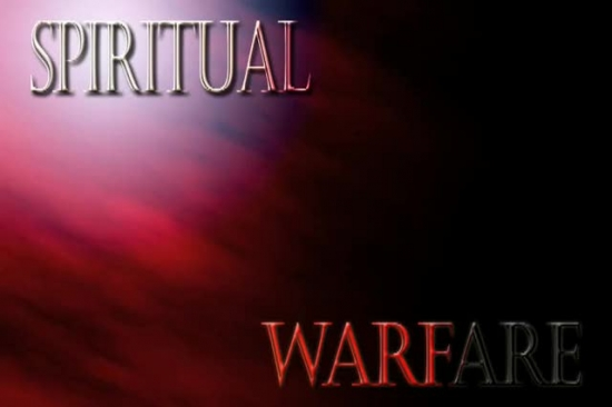 Spiritual Warfare Sermon Background Deo Volente Media