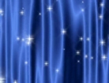 Star Curtain Blue - SD & HD included!