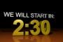 Reflective 3D Countdown - Fall (4:3, SD)