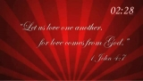 Scriptures of Love Countdown
