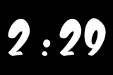 Luma/Chroma Key Countdown Clock 5