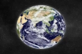 Blue Marble Earth Globe Bright