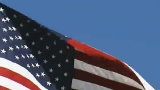 Blue Skies, Freedom Flies WIDESCREEN US Flag Loop