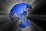 Transparent Oceans Globe Multi Shine