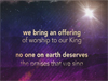 Offering Christmas Version iWorship Flexx 11 - Christmas: We Adore You