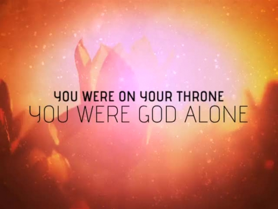 You are god alone starter iworship service starters vol 1