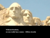 Freedom Quotes Countdown