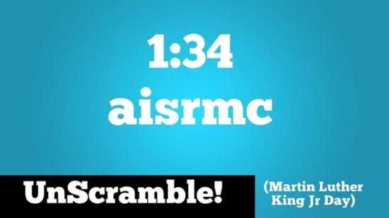 Unscramble Martin Luther King Jr Visual Word Media Sermonspice