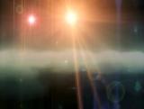Fondo: Luces Celestiales