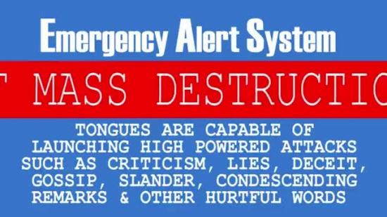 Emergency Alert System Tongue Dkb Media Sermonspice