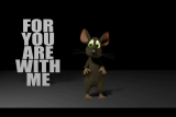 Psalm 23 by Louie, the cartoon mouse