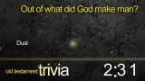 Trivia Countdown 07 of 10 - Old Testament 2