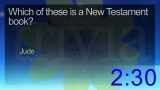 Trivia Countdown 03 of 10 - New Testament 1