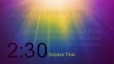 Trivia Countdown 08 of 10 - Scripture Challenge 2