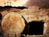 Empty Tomb 3 Crosses Easter Motion Background