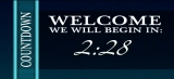 Countdown Welcome