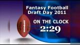 Fantasy Football On the Clock 5 Minute