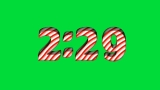 Candy Cane Chroma Countdown