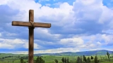 Cross and Clouds 2  Widescreen