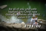 Baptism Countdown