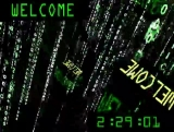 Matrix 3D Box Welcome Countdown