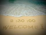 Caribbean Beach Countdown