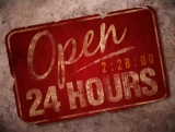 Invite: Open 24 Hours Sign Countdown