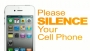 Please Silence Your Phone-Orange