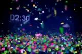 Countdown Confetti with Floor