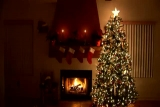 Christmas Hearth - Background