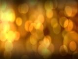 Gold Lens Blur