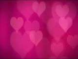 Subtle Hot Pink Hearts