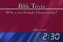 Bible Trivia Countdown - Authors and Facts