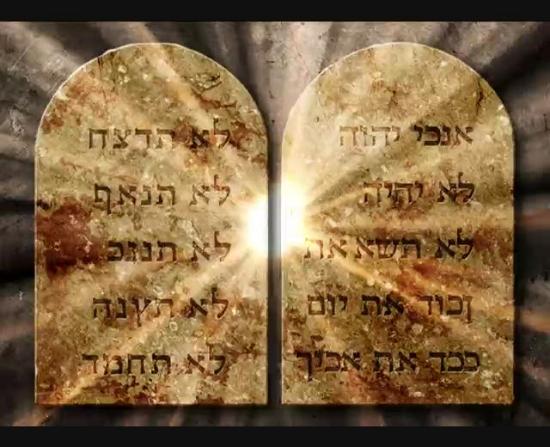ten commandments background