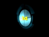 High Tech Clock Countdown
