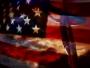 American Flag and Cross Loop - 4th of July