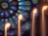 Long Candles and Glass