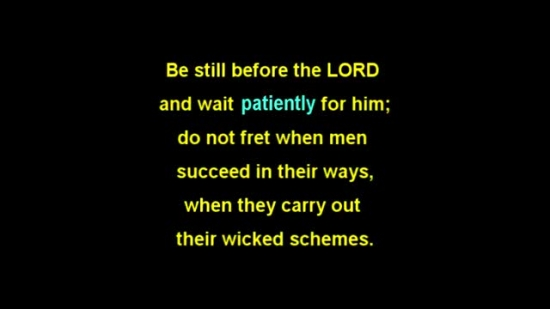 psalm 37 1