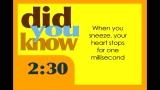 35 Fun Facts Countdown