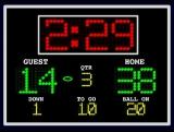 Football Scoreboard Countdown