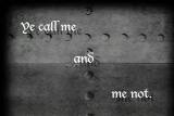 Blame Me Not